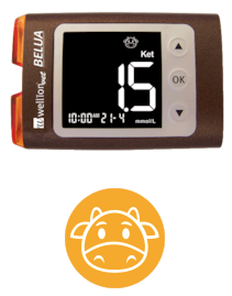 WellionVet BELUA Icon - Always use the appropriate code chip for your pet, so that your meter provides accurate measurement results for the therapy of your pet.