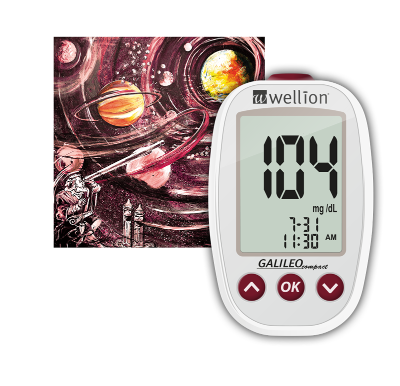 Wellion GALILEO compact glucose meter