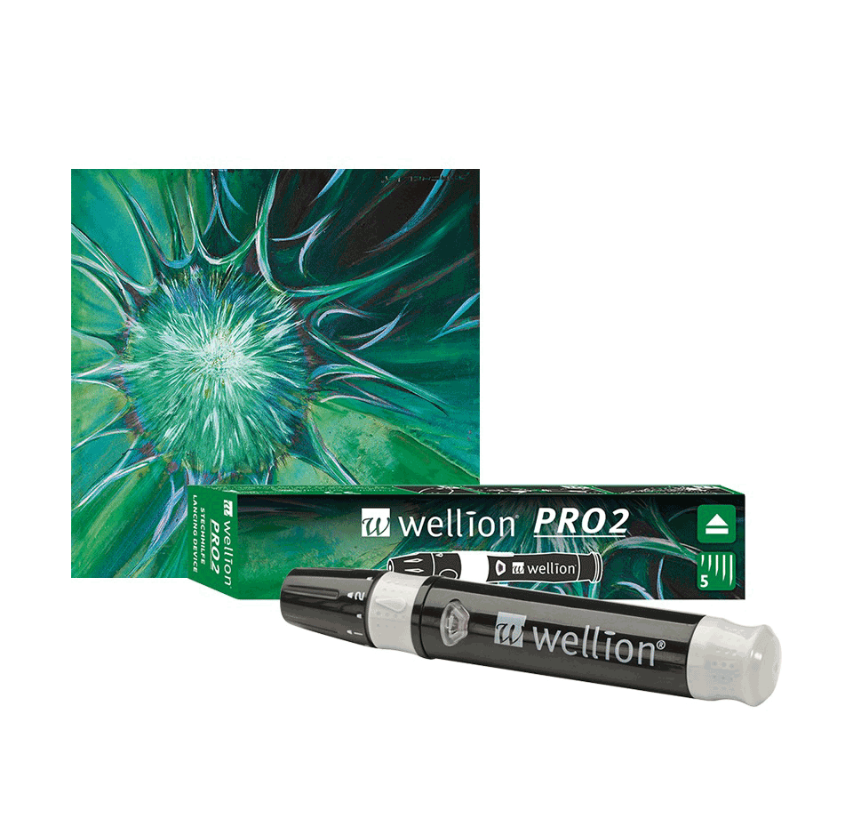 Wellion Pro2 Lancing device