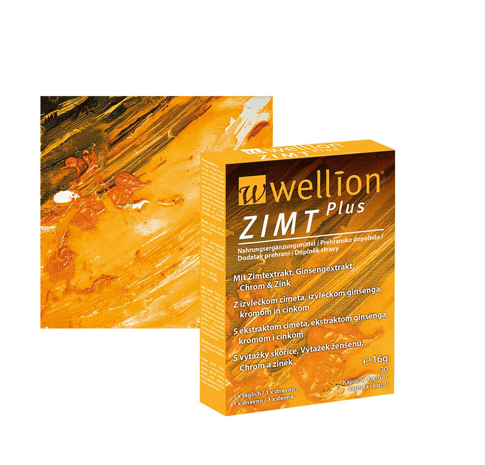 Wellion Zimt plus
