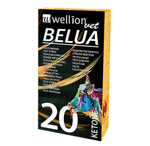 WellionVet BELUA ketone test strips for cows