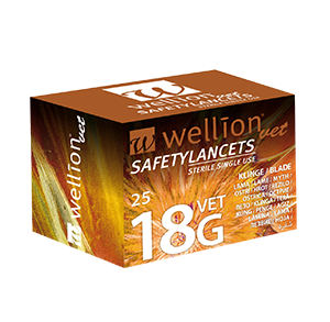 WellionVet Safetylancets 18G
