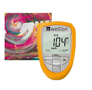 Wellion LUNA Trio Blood Glucose Meter, 3 values for me - Glucose, Cholesterol and uric acid