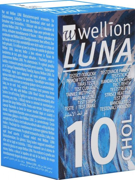 Wellion LUNA Cholesterin Teststreifen 10 Stück