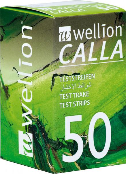Wellion CALLA Blutzuckerteststreifen 50 Stück