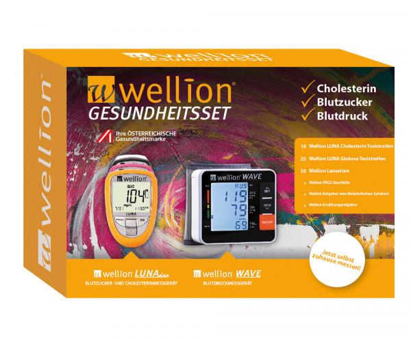 Wellion Gesundheitsset (Blutzucker, Cholesterin, Blutdruck)