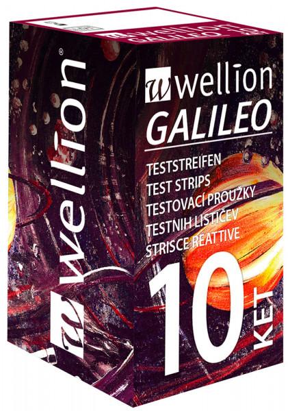 Wellion GALILEO Keton Teststreifen 10 Stück