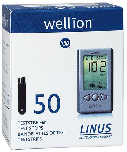 Wellion LINUS Blutzuckerteststreifen
