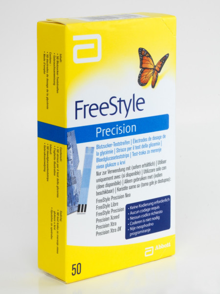 Teststreifen für FreeStyle Precision Neo, FreeStyle Libre, FreeStyle Precision, Precision Xceed, Precision Xtra, Precision Xtra OK Messgeräte