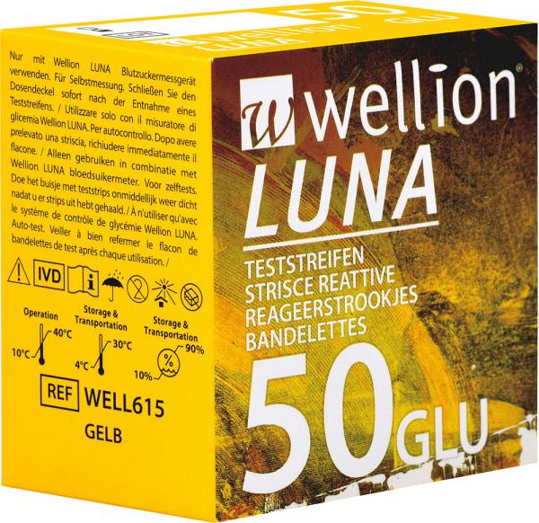 Wellion LUNA Blutzuckerteststreifen 50 Stück