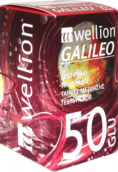 Wellion GALILEO Blutzucker Teststreifen 50 Stück