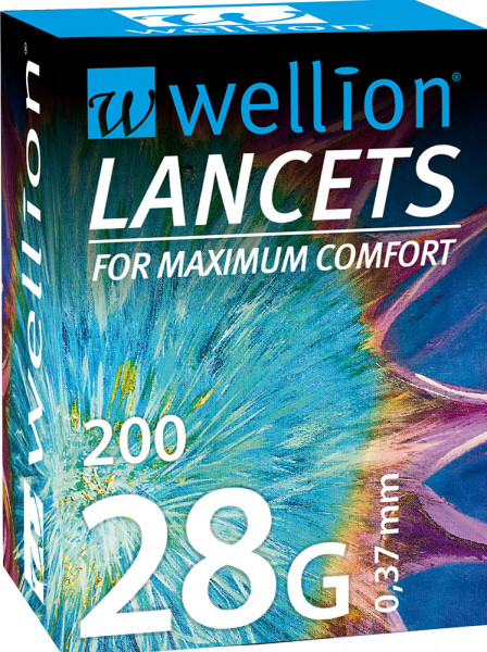 Wellion Lanzetten 28G