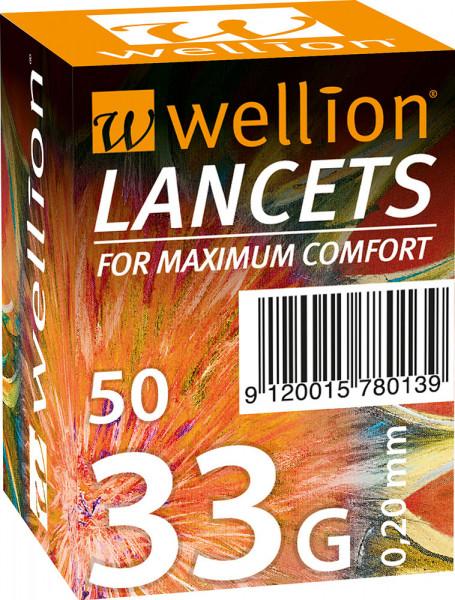 Wellion Lanzetten 33G