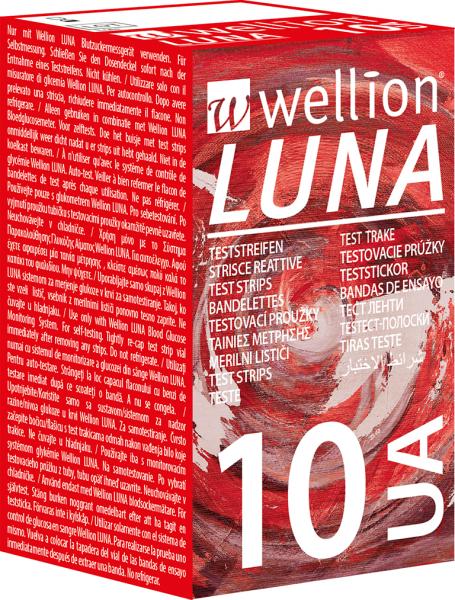 Wellion LUNA Harnsäure-Teststreifen