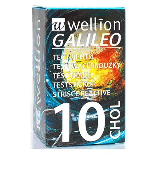 Wellion GALILEO Cholesterin Teststreifen / cholesterol test strips