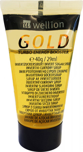 Wellion GOLD Invertzuckersirup in der Tube (Vanille)