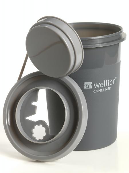 Wellion Abwurfbehälter 0,7l