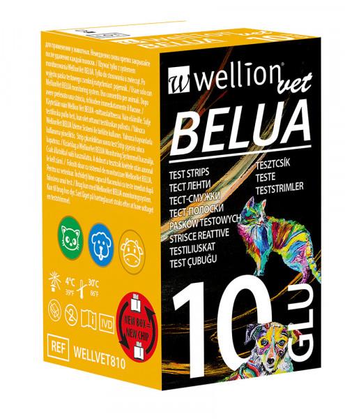 WellionVet BELUA Blutzuckerteststreifen für Hunde, Katzen und Kühe