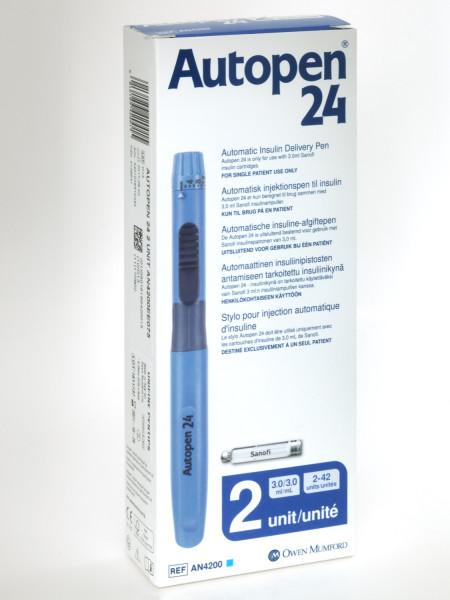 Autopen 24 blau Insulinpen