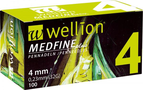 Wellion MEDFINE plus Pennnadeln 4mm 100 Stück