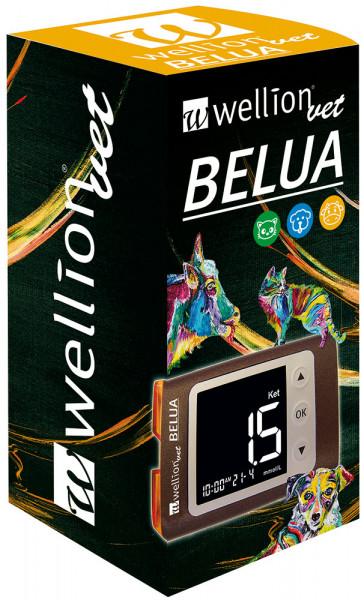 WellionVet BELUA Blutzucker & Ketone Messgerät Verpackung